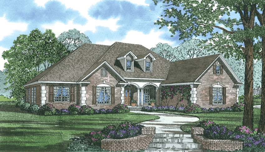 5 Bedroom Ranch House Plan With In Law Suite 2875 Sq Ft