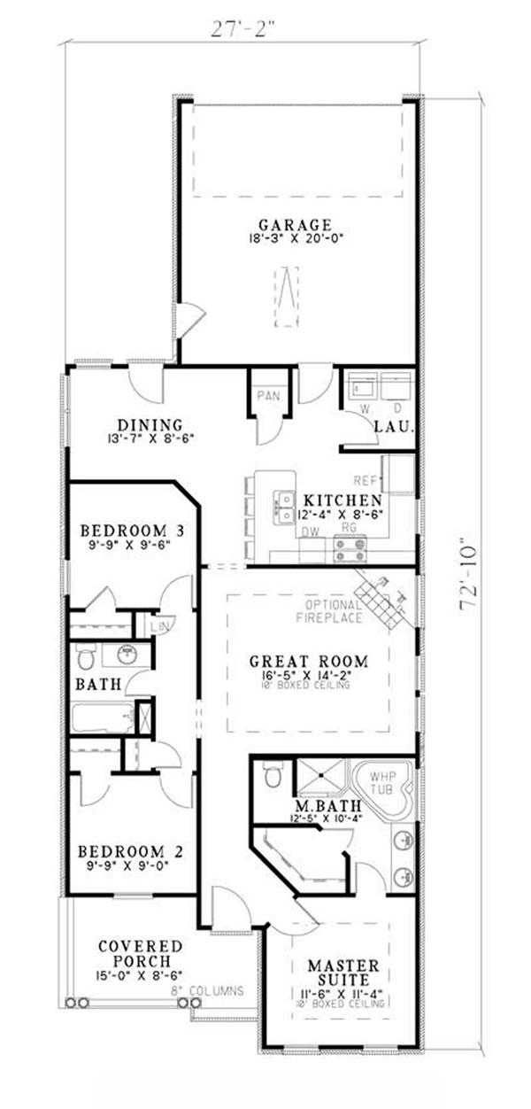 Small House Plans Home Design Ndg 499 9841