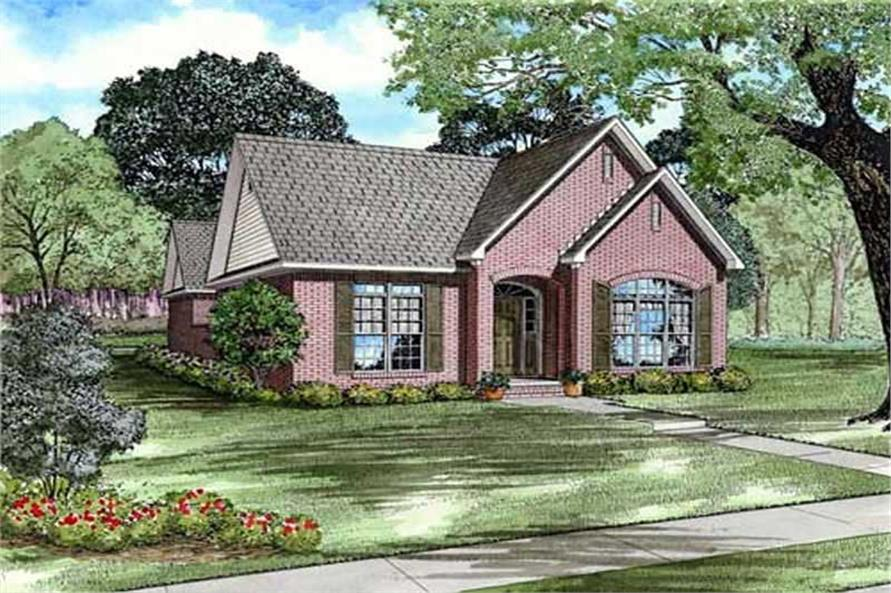 Main image for house plan # 9837