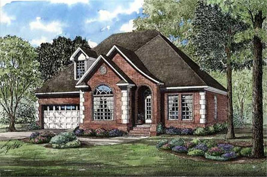 Main image for house plan # 9836