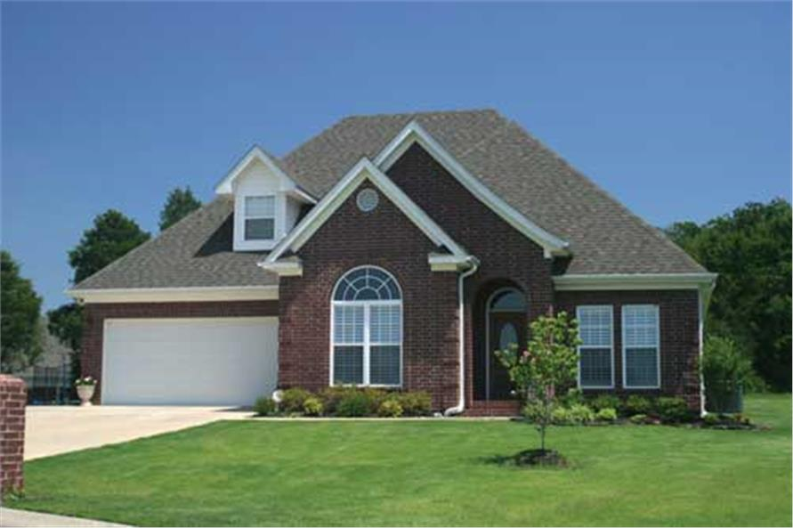 Front View of this 3-Bedroom,1797 Sq Ft Plan -1797