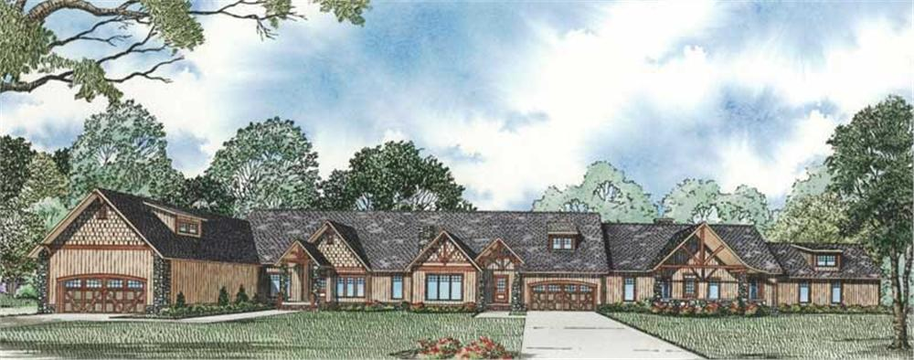 Main image for house plan # 19825