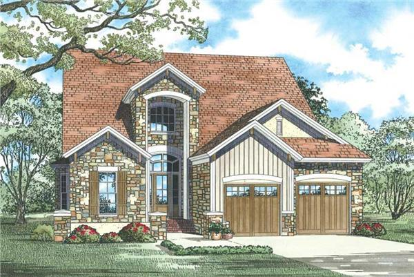 Main image for house plan # 19826
