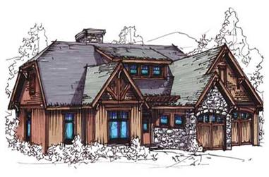 4-Bedroom, 2266 Sq Ft Vacation Homes Home Plan - 153-1892 - Main Exterior