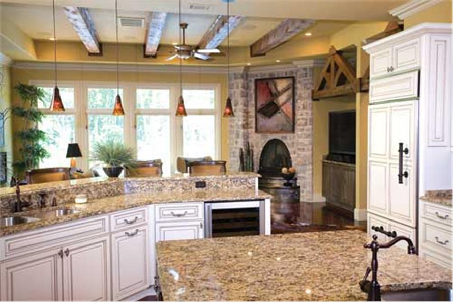 Kitchen of this 3-Bedroom,4121 Sq Ft Plan -4121