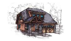 Main image for house plan # 11510