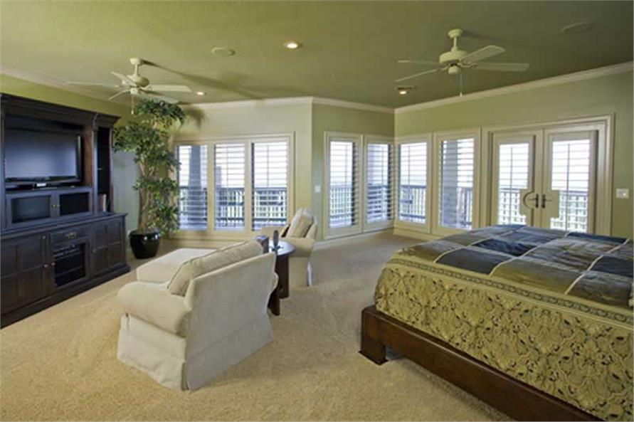 Master Bedroom of this 4-Bedroom,5145 Sq Ft Plan -5145