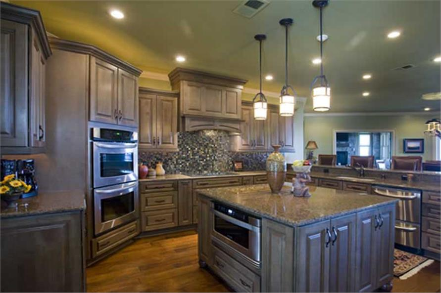 Kitchen of this 4-Bedroom,5145 Sq Ft Plan -5145