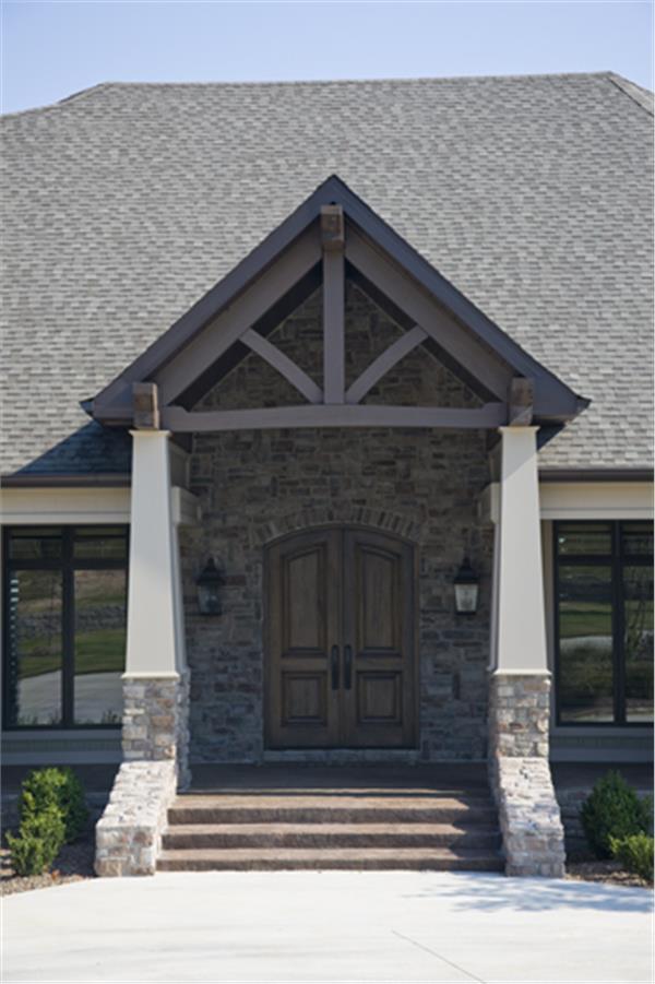 153-1904: Home Exterior Photograph-Front Door