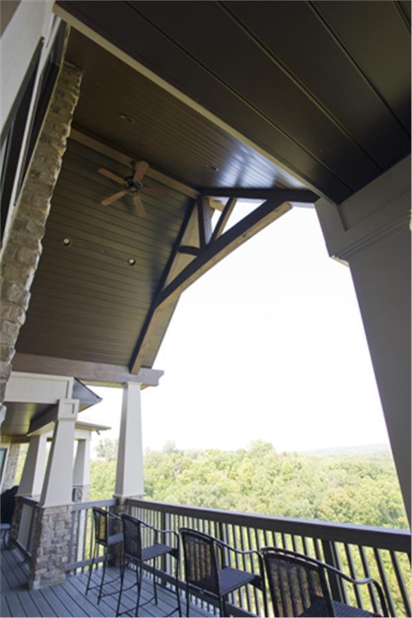 153-1904: Home Exterior Photograph-Porch - Rear View