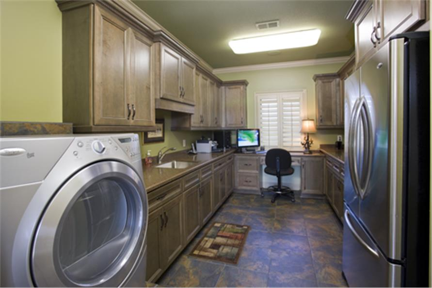 Laundry Room of this 4-Bedroom,5145 Sq Ft Plan -5145