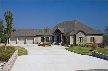 4-Bedroom, 5144 Sq Ft Country Home -  Plan #153-1904