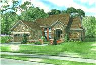 Main image for house plan # 16891