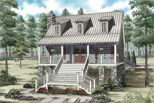 Main Image for country house plan NDG-1187