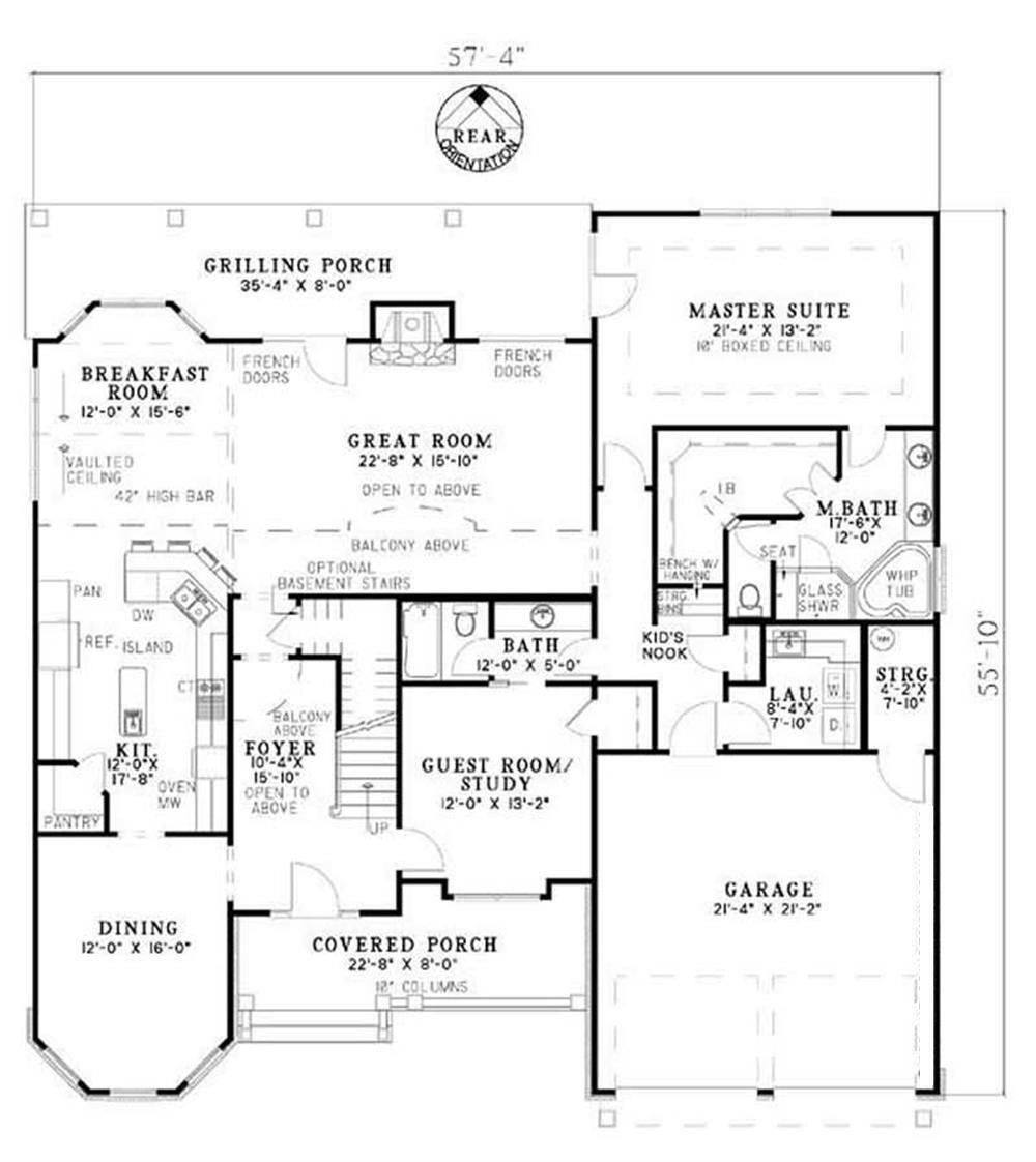 NDG-950B HOME PLAN
