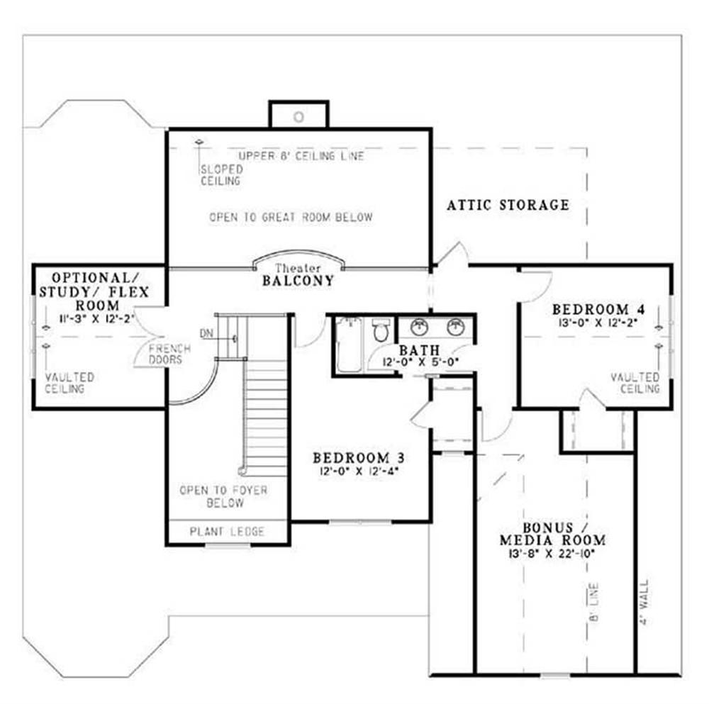 HOUSE PLAN NDG-950B