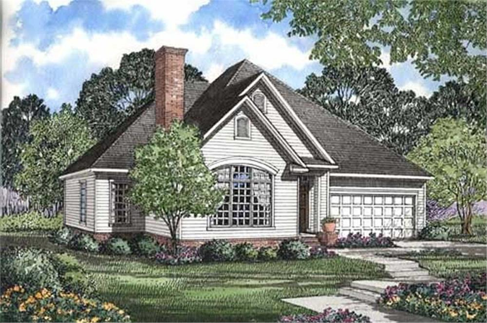 Main image for house plan # 17644