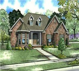 House Plan #153-1917