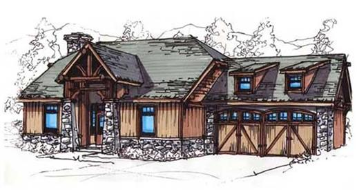 Main image for house plan # 11474