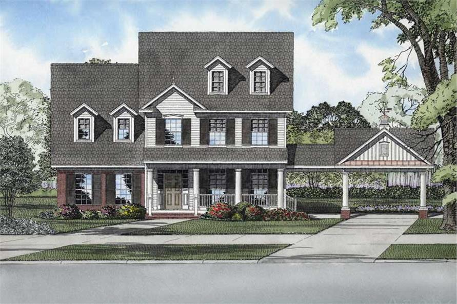 Main image for house plan # 8226