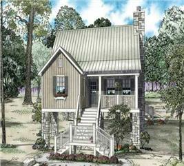 House Plan #153-1932