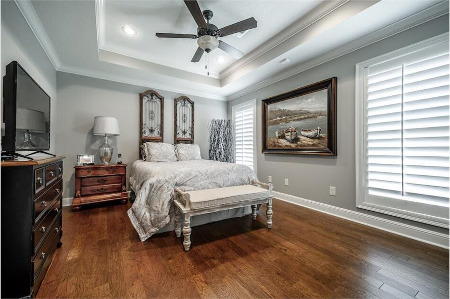 Bedroom of this 3-Bedroom,1711 Sq Ft Plan -1711