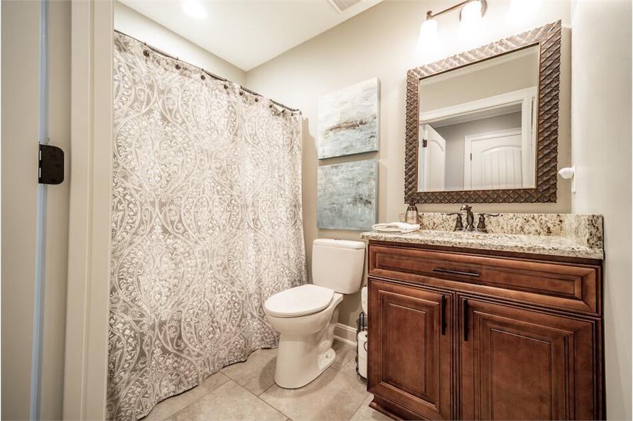 Bathroom of this 3-Bedroom,1711 Sq Ft Plan -1711