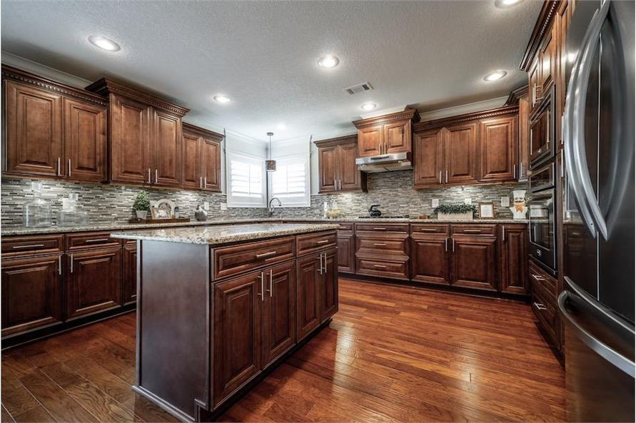 Kitchen of this 3-Bedroom,1711 Sq Ft Plan -1711