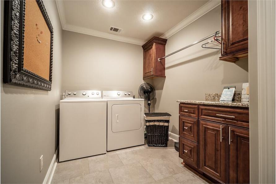 Laundry Room of this 3-Bedroom,1711 Sq Ft Plan -1711