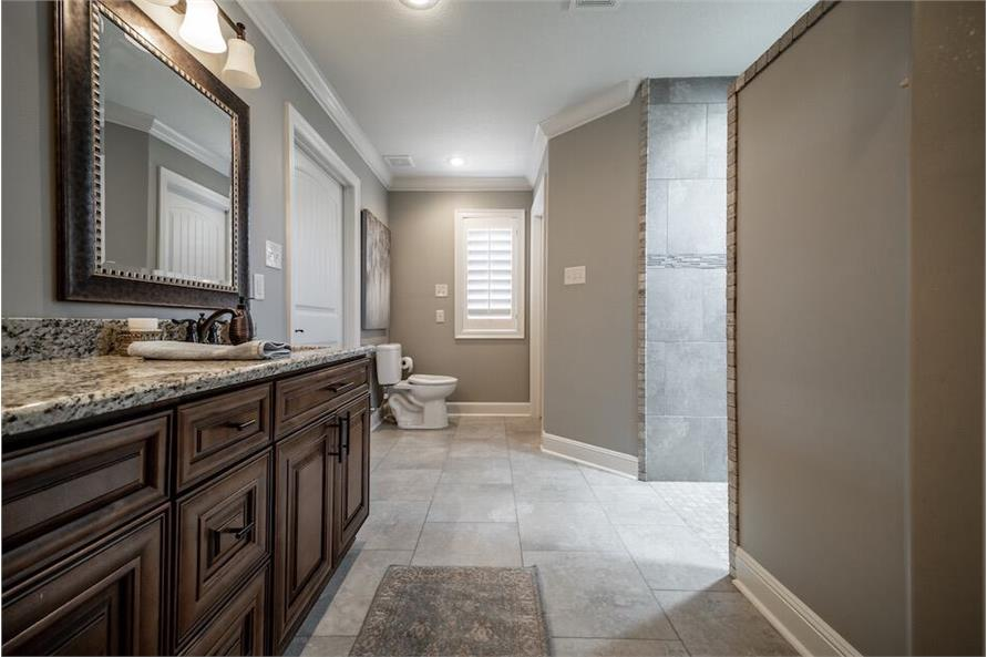 Master Bathroom of this 3-Bedroom,1711 Sq Ft Plan -1711