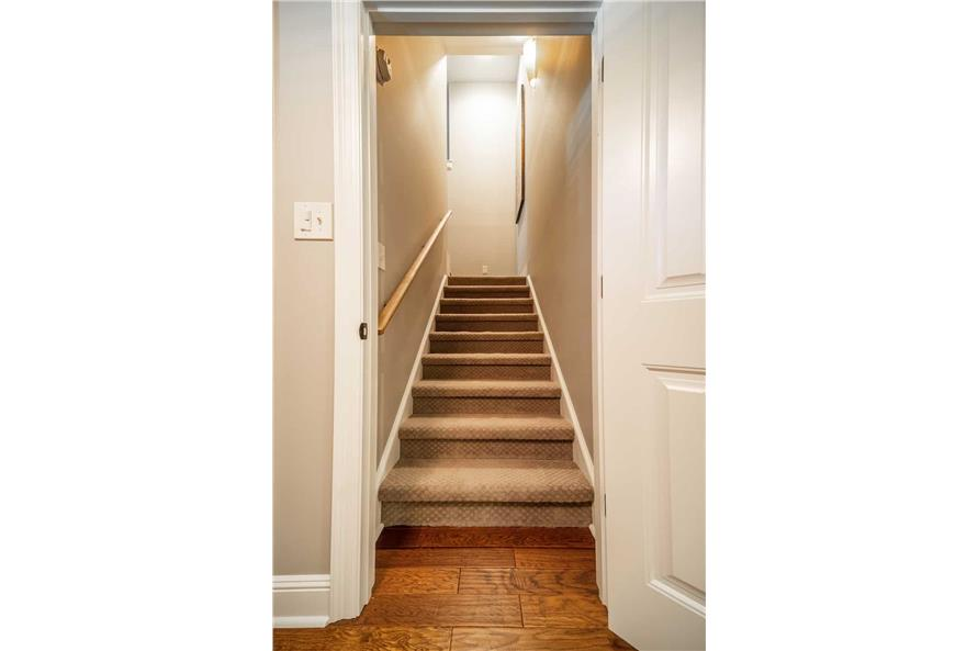 Entry Hall: Staircase of this 3-Bedroom,1711 Sq Ft Plan -1711