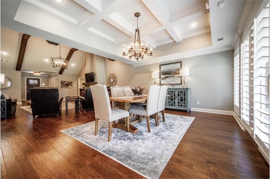 Dining Room of this 3-Bedroom,1711 Sq Ft Plan -1711