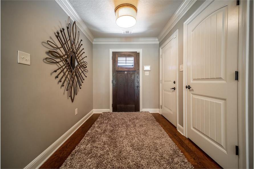 Entry Hall: Foyer of this 3-Bedroom,1711 Sq Ft Plan -1711