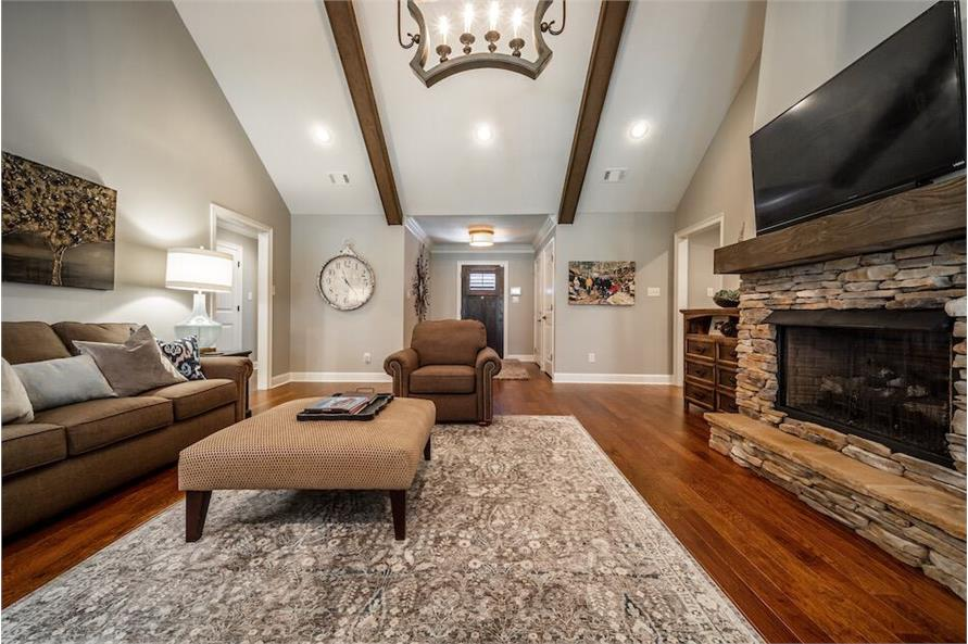 Family Room of this 3-Bedroom,1711 Sq Ft Plan -1711