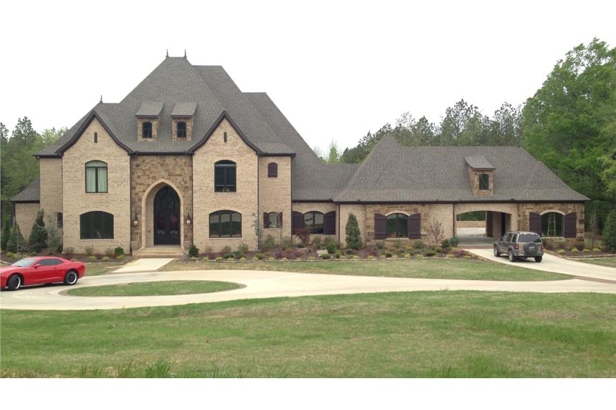 3-Bedroom, 4380 Sq Ft Luxury Home Plan - 153-1944 - Main Exterior