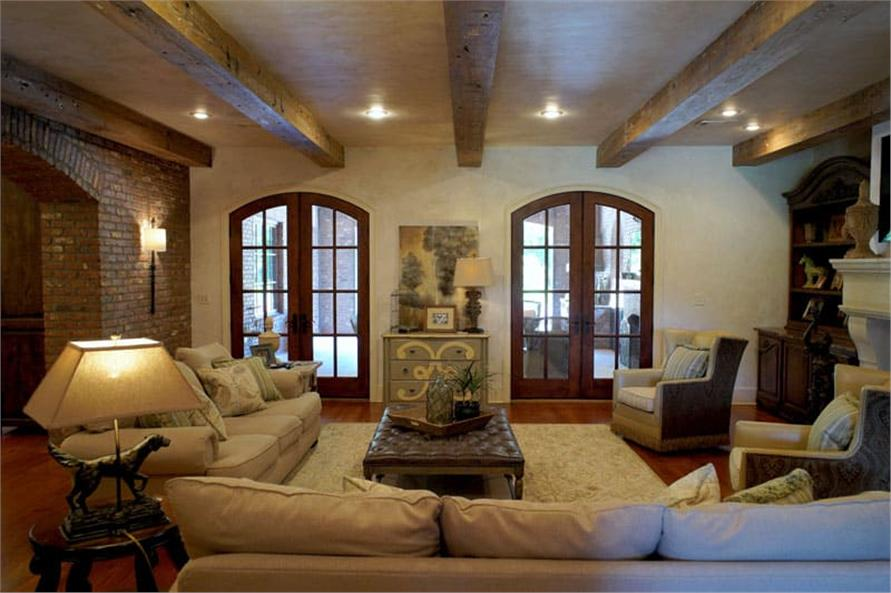 Great Room: Windows of this 6-Bedroom,6004 Sq Ft Plan -153-1945
