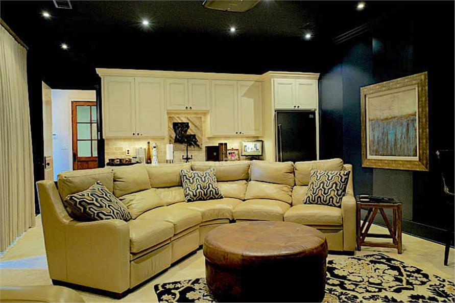 Media Room of this 6-Bedroom,6004 Sq Ft Plan -153-1945