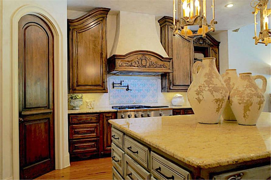 Kitchen of this 6-Bedroom,6004 Sq Ft Plan -153-1945