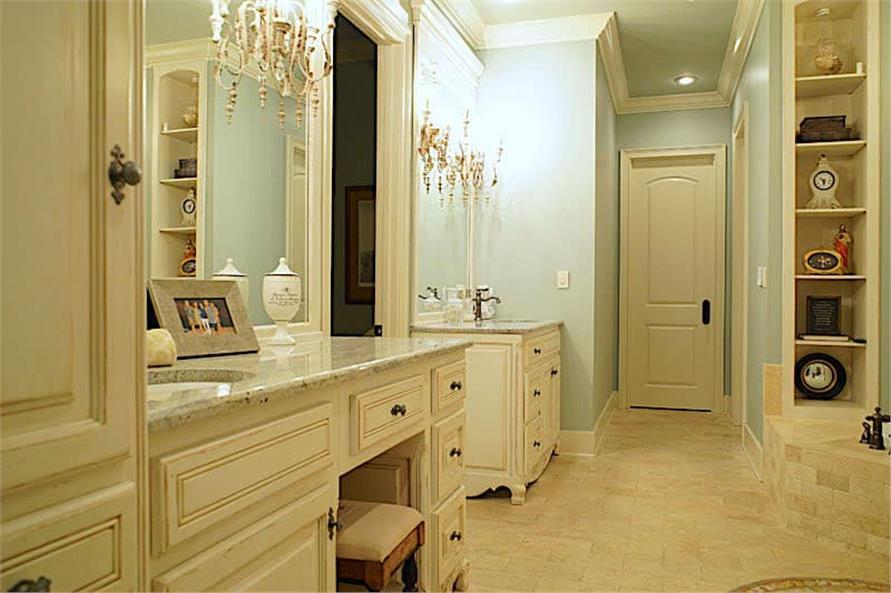Master Bathroom: Sink/Vanity of this 6-Bedroom,6004 Sq Ft Plan -153-1945