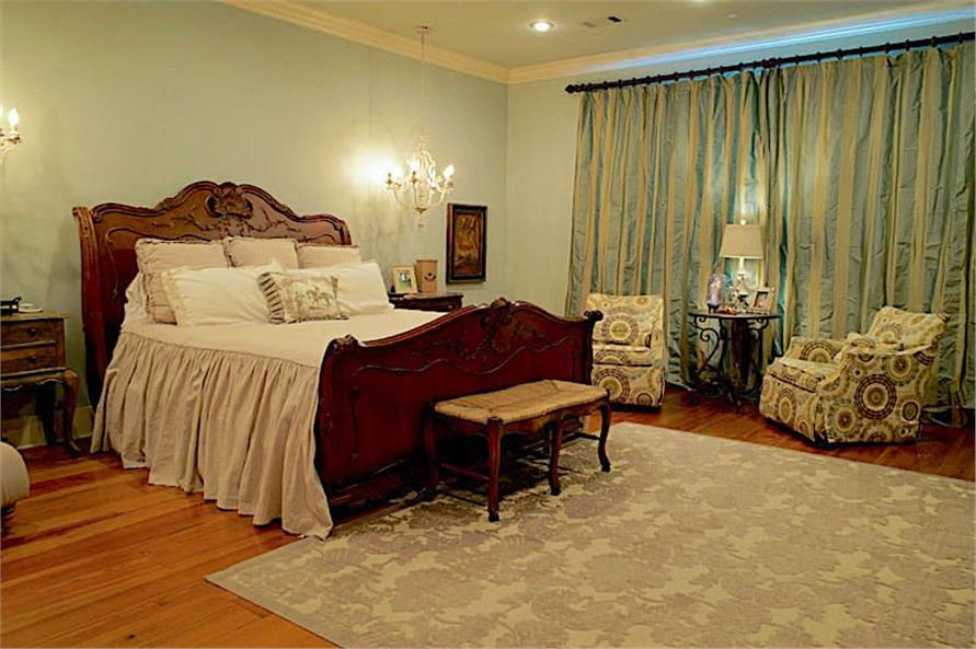 Master Bedroom of this 6-Bedroom,6004 Sq Ft Plan -153-1945