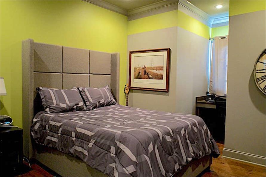 Bedroom of this 6-Bedroom,6004 Sq Ft Plan -153-1945