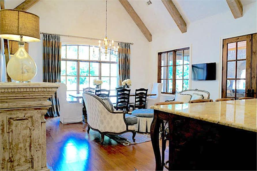 Dining Room of this 6-Bedroom,6004 Sq Ft Plan -153-1945