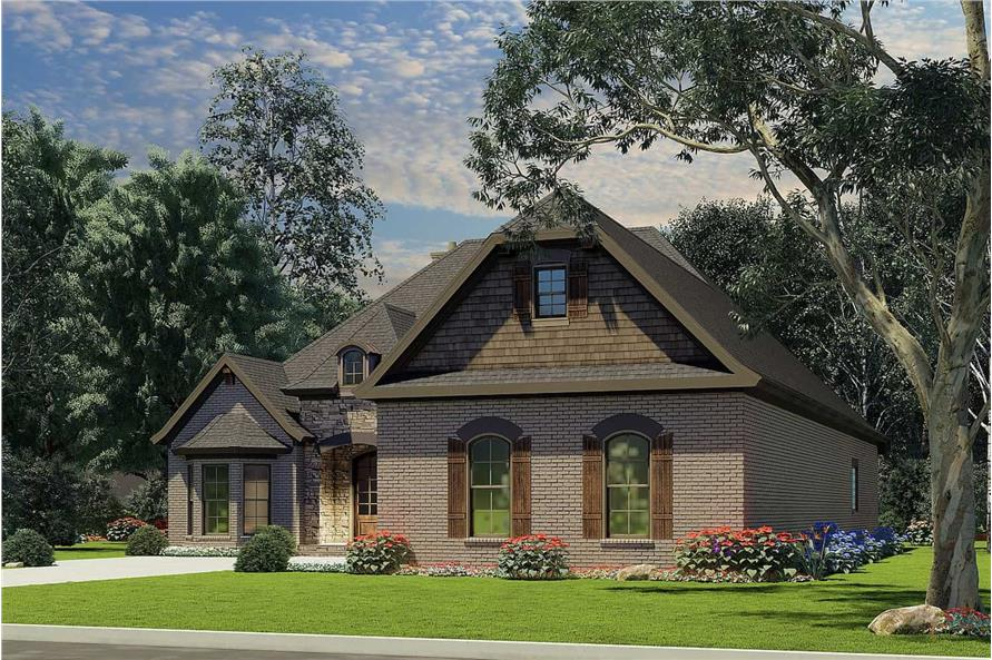 Right View of this 3-Bedroom,2147 Sq Ft Plan -153-1946