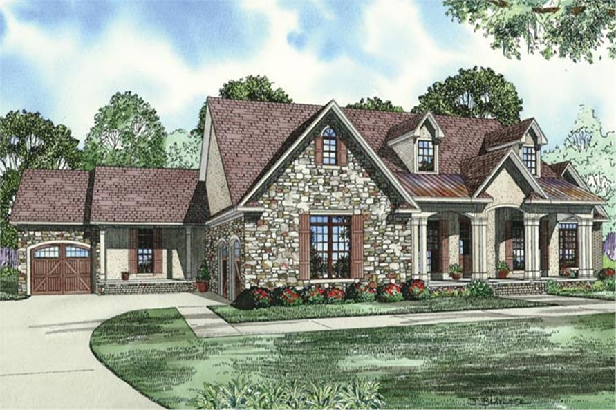 House plan 153 1950 5 bdrm 2 768 sq ft country style for Country style house plans