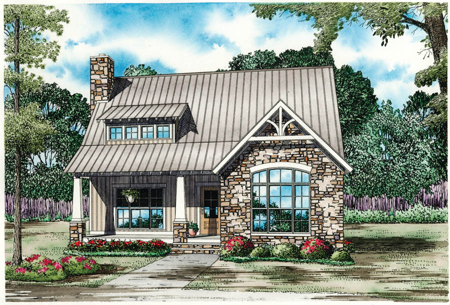 House Plan 153 1952 3 Bdrm 1874 Sq Ft Traditional Smaller Home