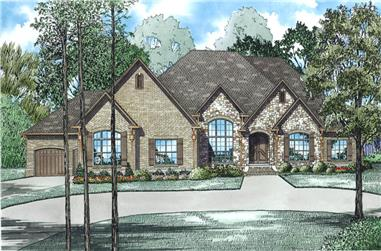 Luxury House Plan (#153-1982) at The Plan Collection.