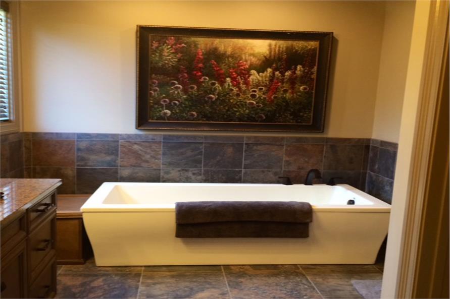 Master Bathroom: Tub of this 4-Bedroom,2340 Sq Ft Plan -2340