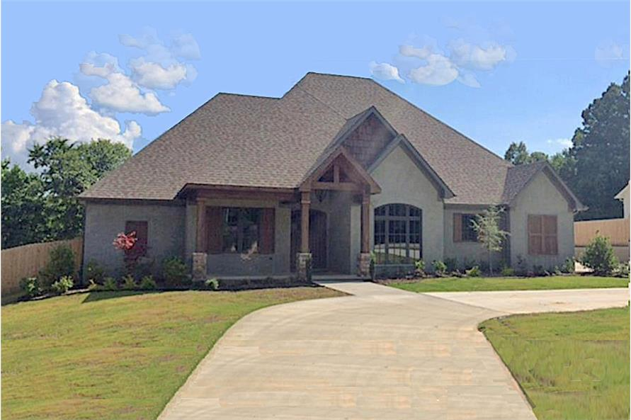 4-Bedroom, 2340 Sq Ft European Home Plan - 153-1987 - Main Exterior