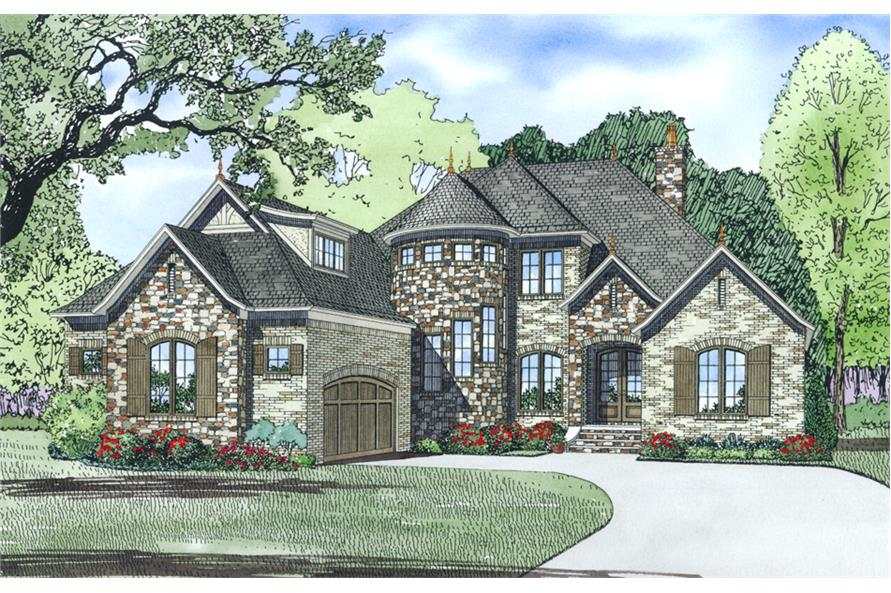 Home Exterior Photograph of this 4-Bedroom,3084 Sq Ft Plan -3084