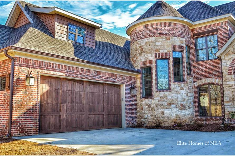 Garage of this 4-Bedroom,3084 Sq Ft Plan -3084